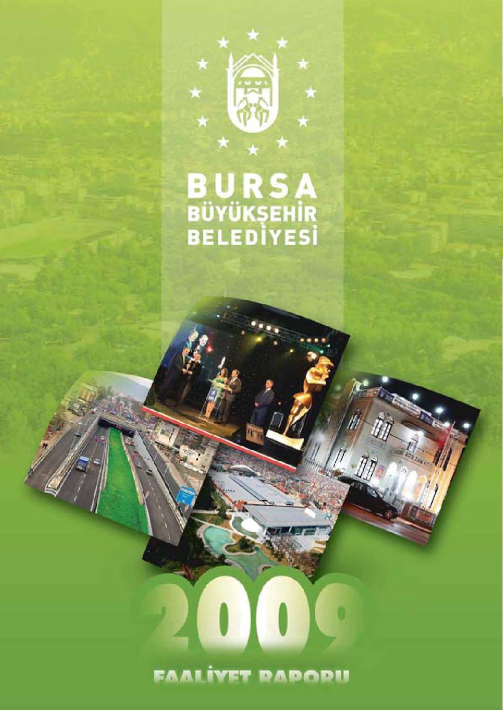 Faaliyet Raporu 2009 By Bursa Buyuksehir Belediyesi Issuu