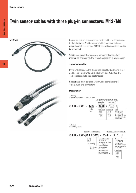 Weidmüller sensor stik by Wexøe A/S - issuu
