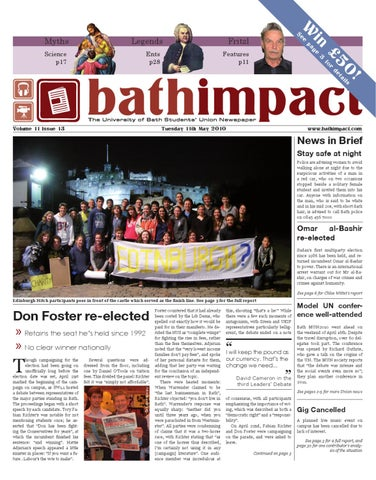 Bath Impact Volume 11 Issue 13 by bathimpact issuu