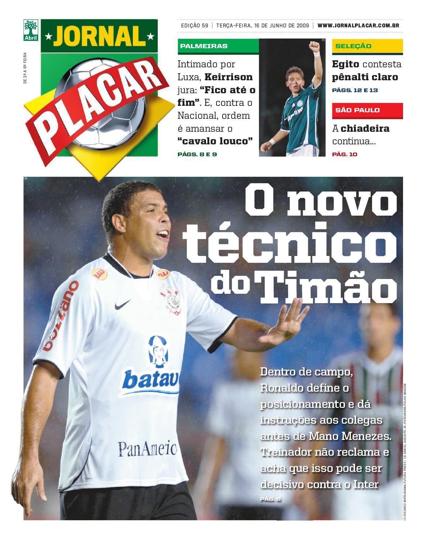 jornal-placar-edicao-59 by Revista Placar - issuu 6ba0e7798f7a2