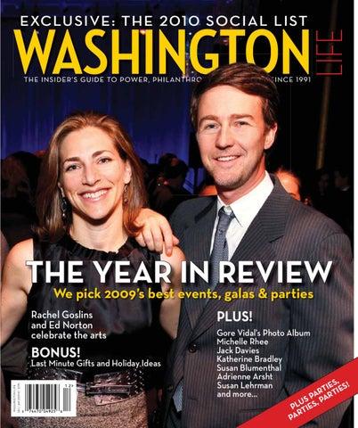 Washington Life Magazine Holiday 2009 By Washington Life Magazine