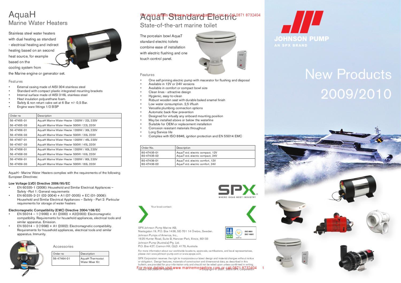 SPX Johnson Pump 80-47416-01 AIR V 3-280 Flange Mount 12V