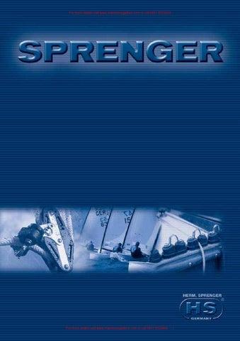 Karabinerhaken /'Sprenger/' 85mm