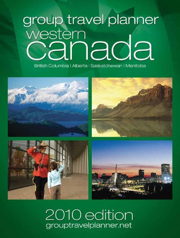 Western Canada Group Travel Planner By Transcontinental Specialty