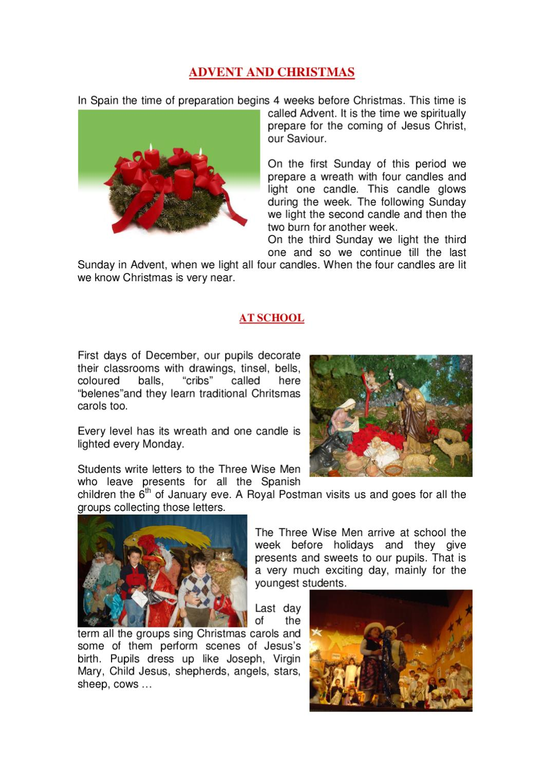 Christmas Traditions in Spain by PURIFICACIÓN FERNÁNDEZ - issuu