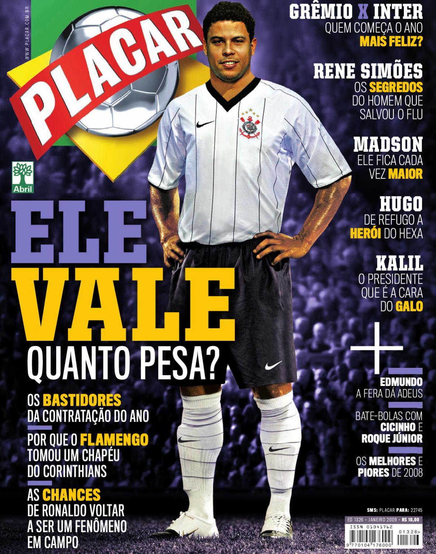 58017883f3 Placar Janeiro 2009 by Revista Placar - issuu