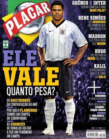 Placar Janeiro 2009 by Revista Placar - issuu 0b17bd9edbbc5
