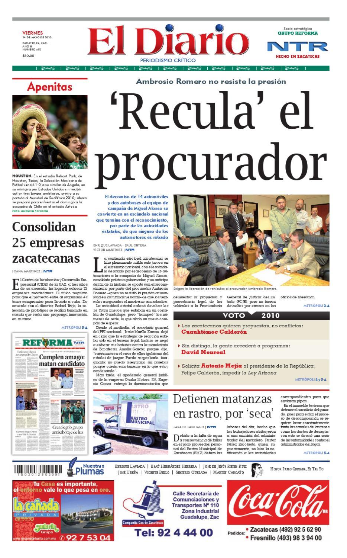 El Diario NTR by NTR Medios de Comunicación - issuu
