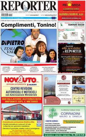 Reporter Giornale 14 Maggio 2010 by Reporter - issuu d7e2d766384