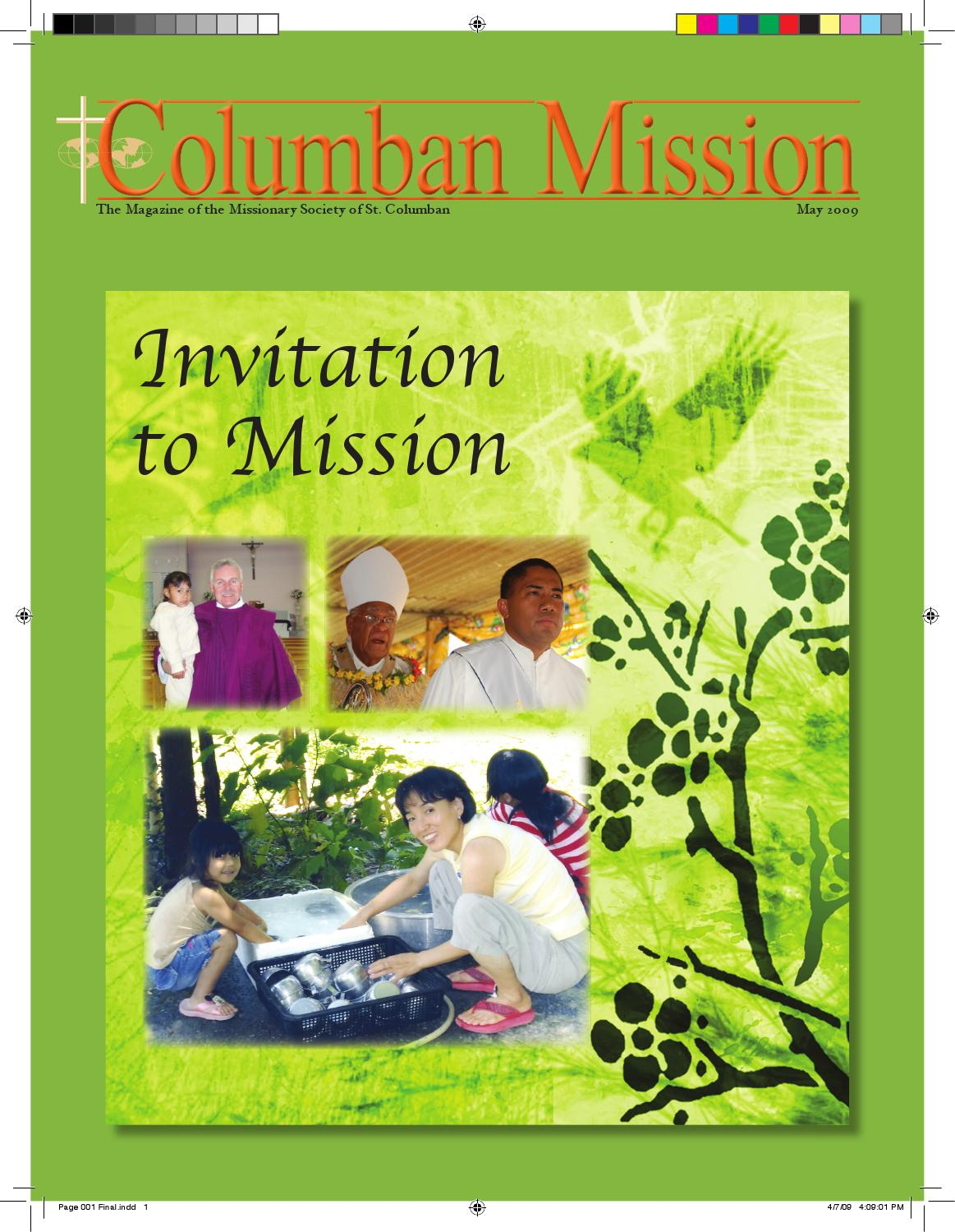 Columban Mission   May 15 by Columban Fathers   issuu