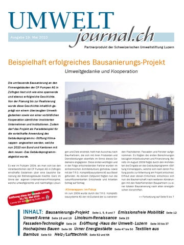Umweltjournal mai by hans muster - issuu