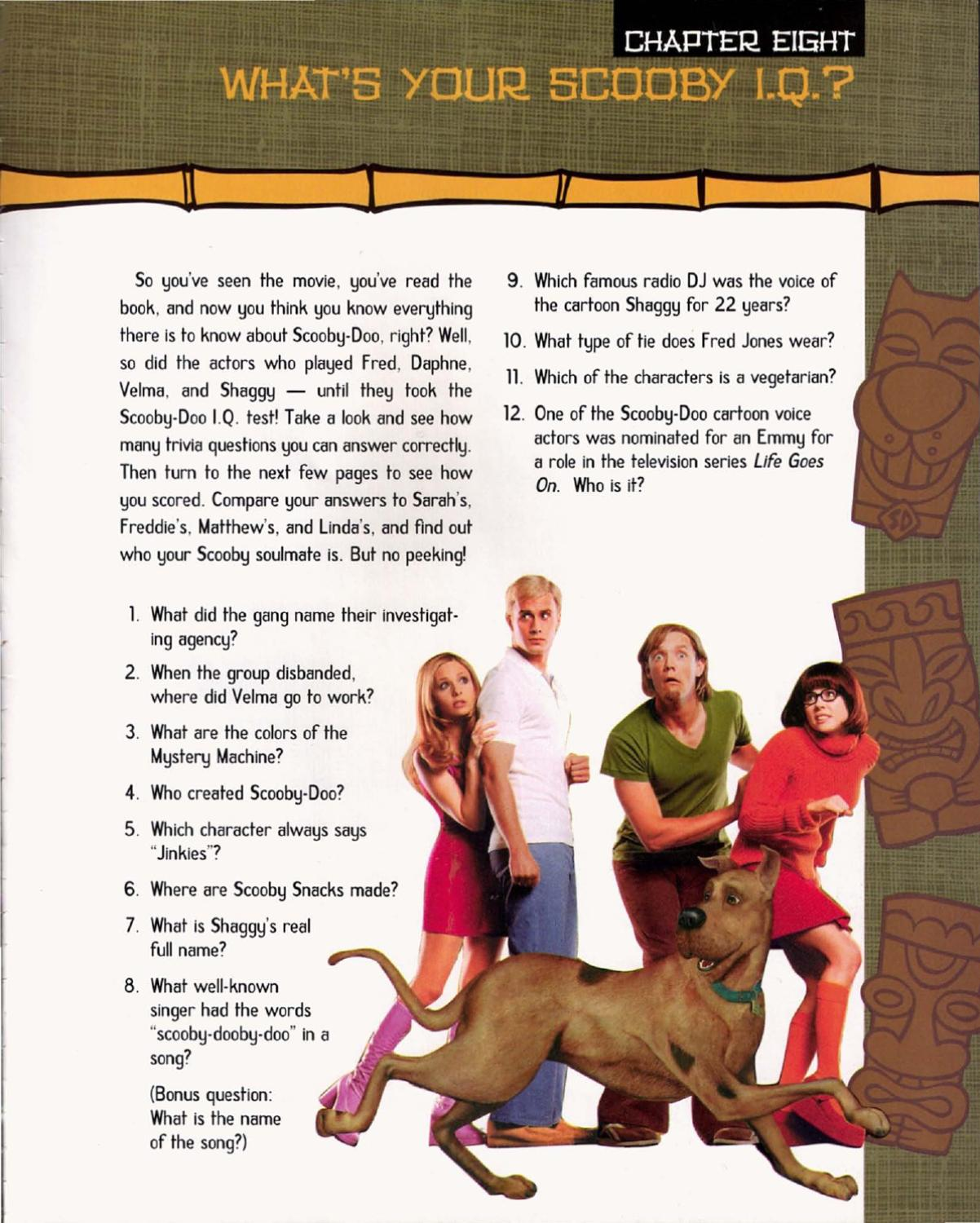 Scooby Doo The Complete Movie Scrapbook By Vinnie Rattolle Issuu