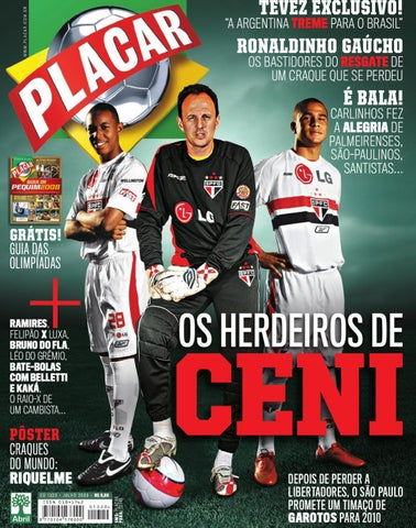 Placar Julho 2008 by Revista Placar - issuu b4cd73d67cc73