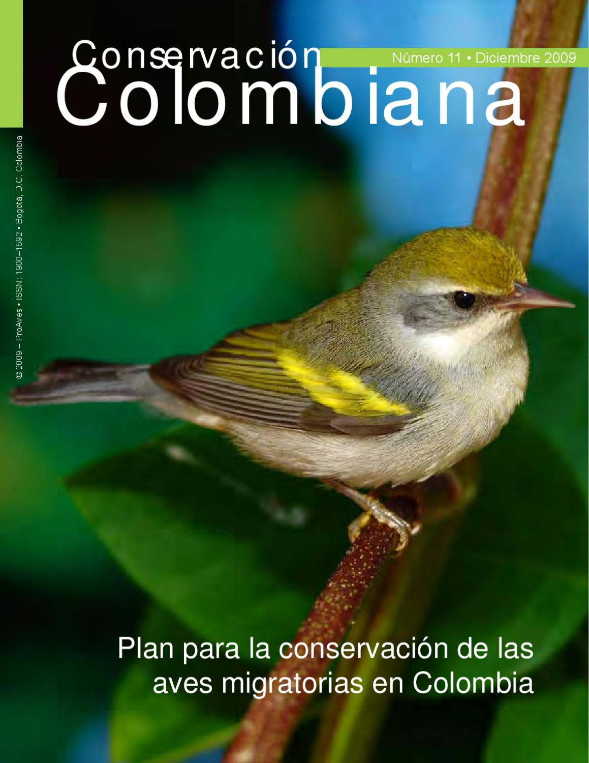 Plan Conservación Aves migratorias Colombia by Andres Paez - issuu