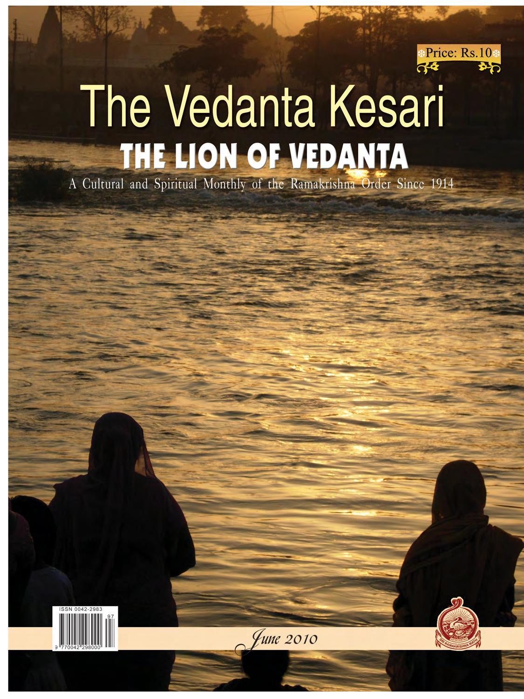 The Vedanta Kesari - June 2010 Issue