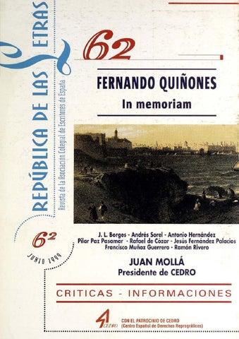 REVISTA 062 by ASOCIACIÓN COLEGIAL DE ESCRITORES - issuu c1e98fbc0f4