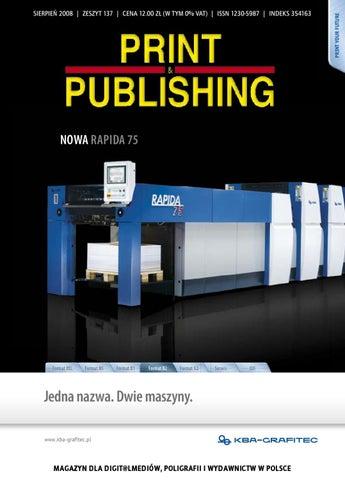 Print Publishing 137 By Jacek Golicz Issuu