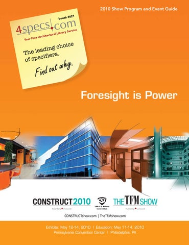 construct2010 and the tfm show program and event guide by construct