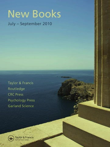 358e391f67d New Titles Seasonal July - September 2010 (UK) by Routledge Taylor ...