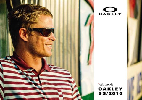 1f9ba008d0 Oakley Catalog Summer 2010 presented by Oakstore.de by 4ego ...