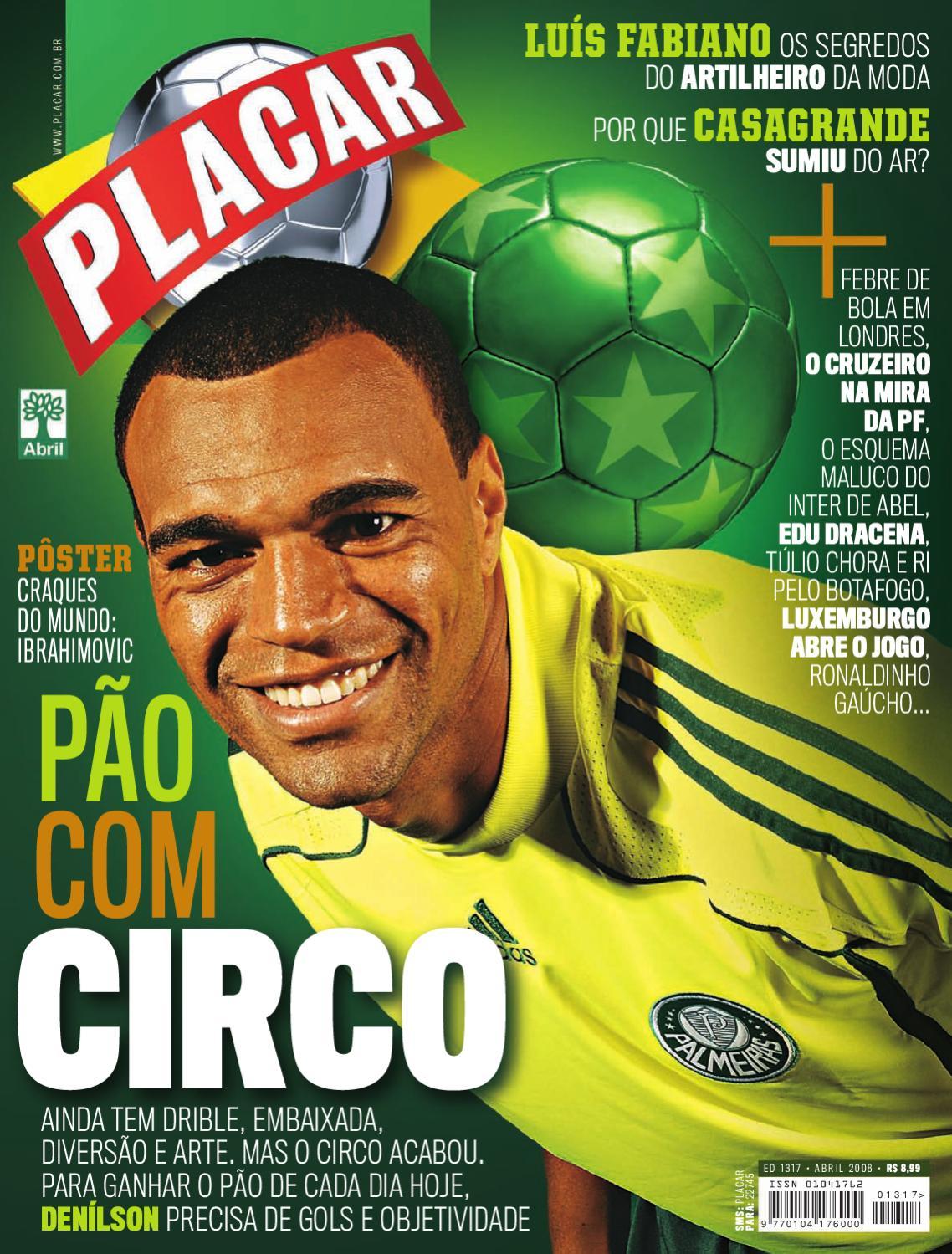 288bc0d2e8 Placar Abril 2008 by Revista Placar - issuu
