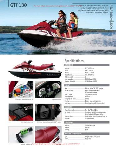 Sea-doo - GTI 130 by Marine Mega Store Ltd - issuu