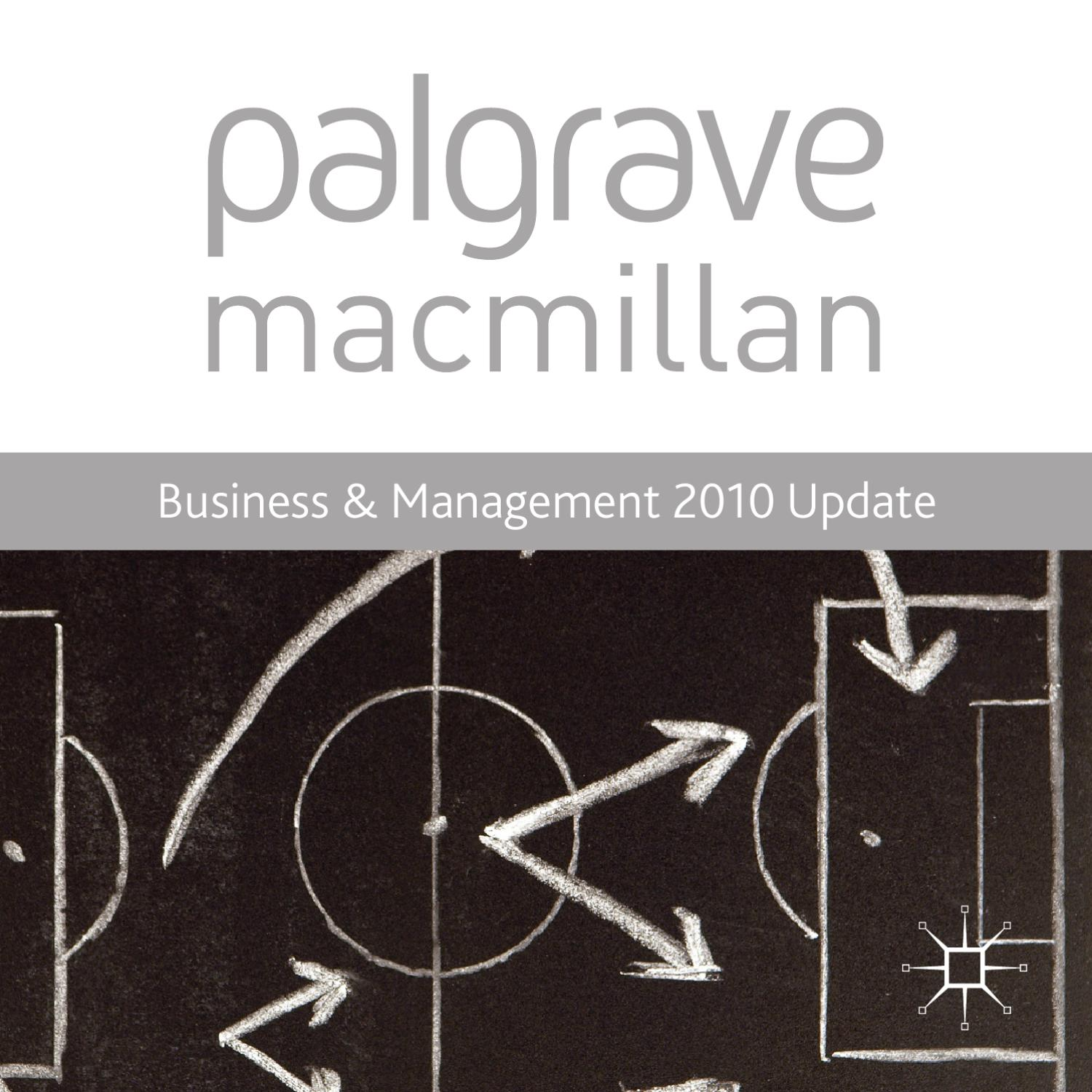 Business management 2010 update by macmillan international higher business management 2010 update by macmillan international higher education issuu fandeluxe Image collections