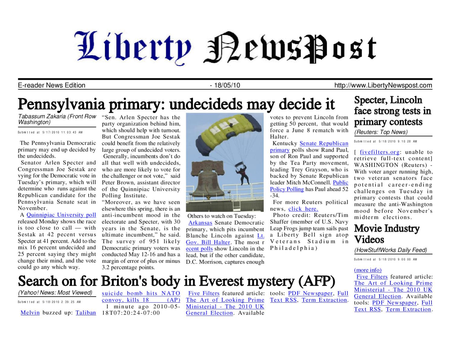 Liberty newspost may 18 10 by liberty newspost issuu fandeluxe Images