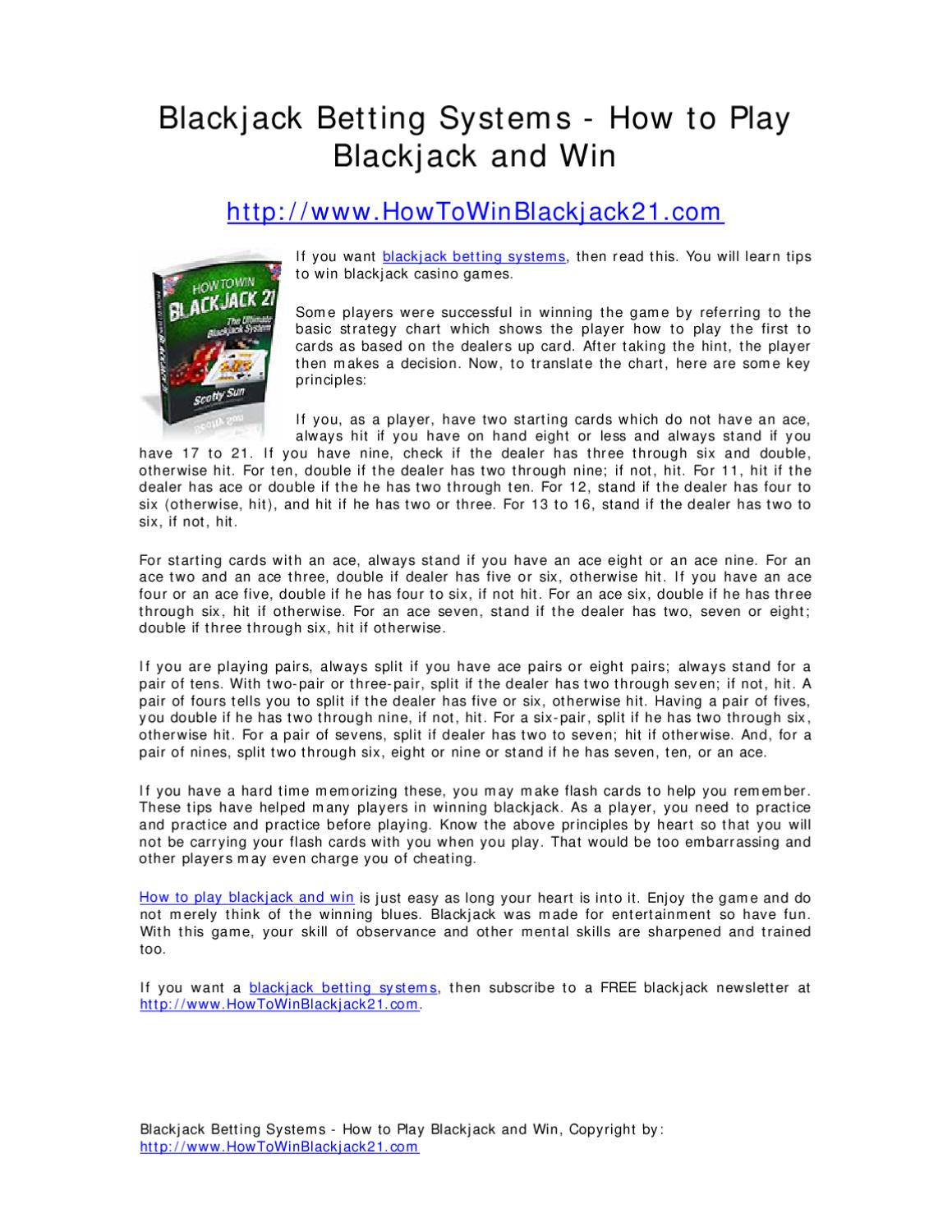 Rules for blackjack betting system no confirmations bitcoins