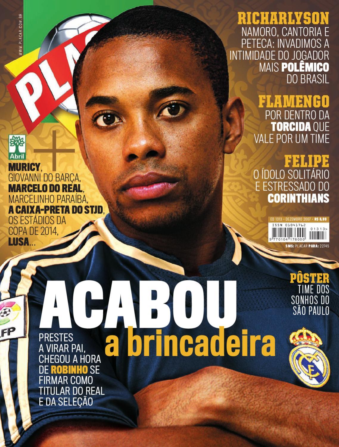 Placar Dezembro 2007 by Revista Placar - issuu 94bba9839b4a1