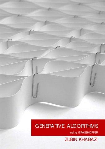 Generative Algorithms By Khabazi By Pablo C Herrera Issuu