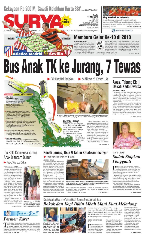 Surya Edidi Cetak 19 Mei 2010 By Harian Issuu Produk Ukm Bumn Box Hantaran Pengantin Bio Art