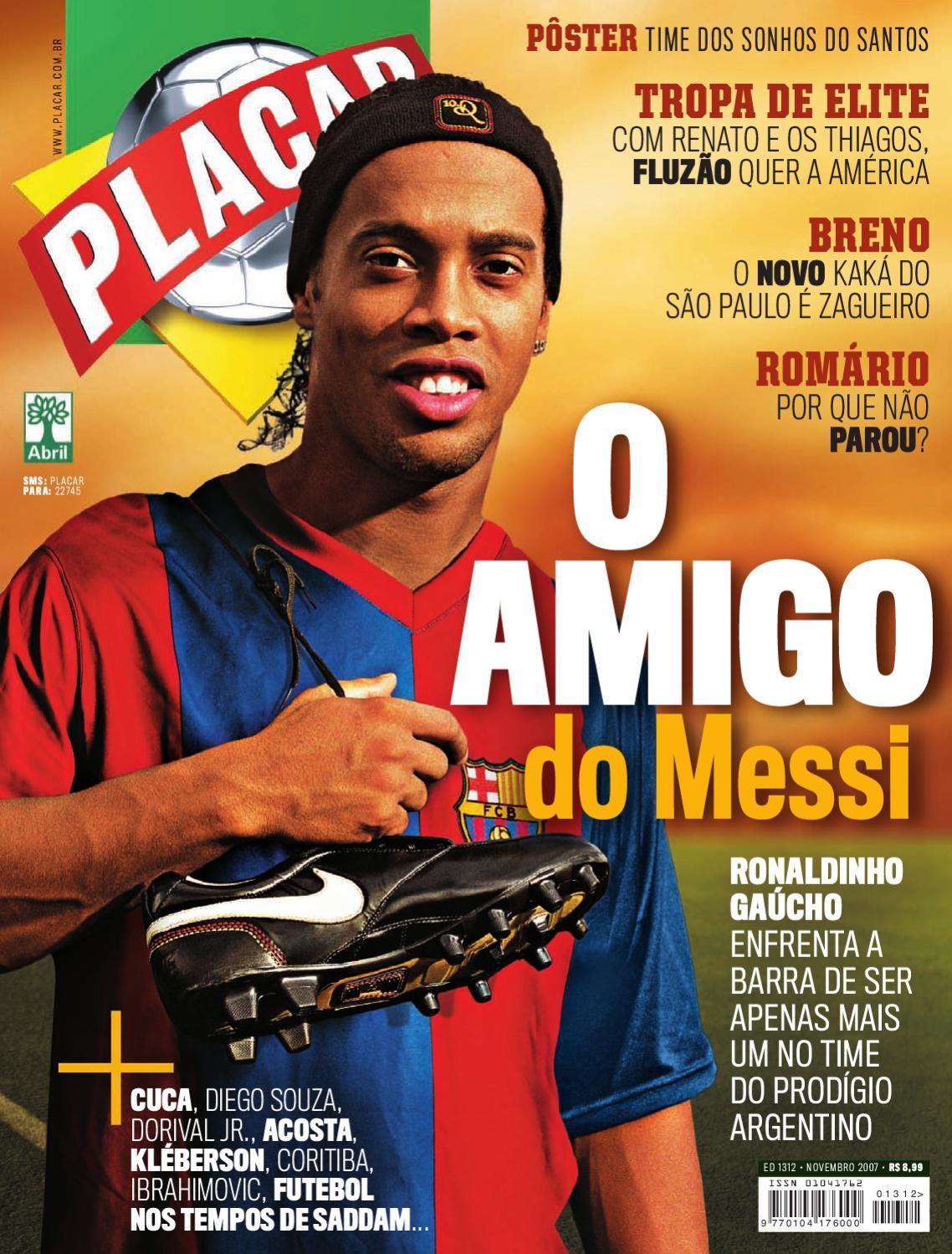 Placar Novembro 2007 by Revista Placar - issuu 65e2a7a1a7104