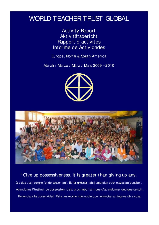 Reporte Anual 20092010 By Juan Angel Moliterni Issuu