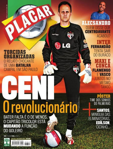 Placar Outubro 2007 by Revista Placar - issuu 6026062f1f4b2