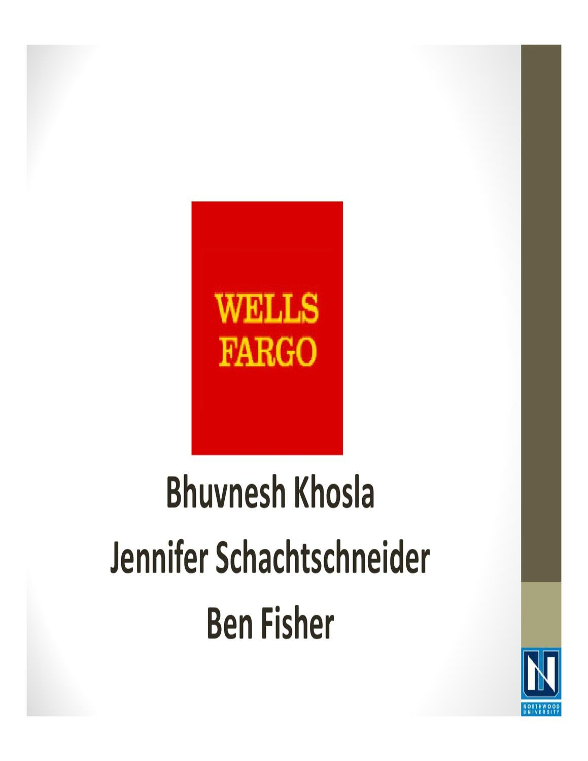 wells fargo case solution strategic management Home essays wells fargo ofs case wells fargo ofs case strategic management harvard case solution & analysis wells fargo.
