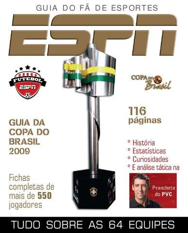 Regista sobre Copa do Brasil de 2009 by André Soares - issuu d534cf0110532