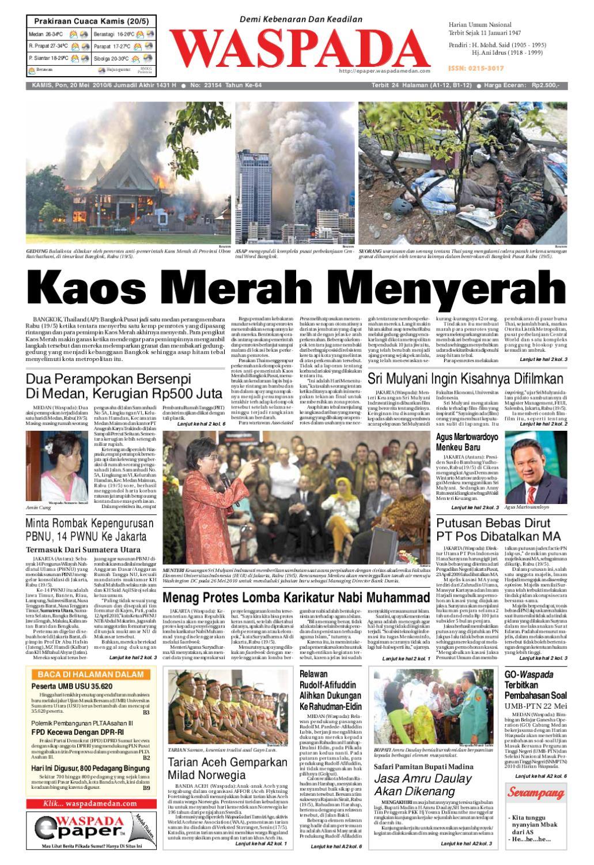 Waspada Kamis 20 Mei 2010 By Harian Waspada Issuu