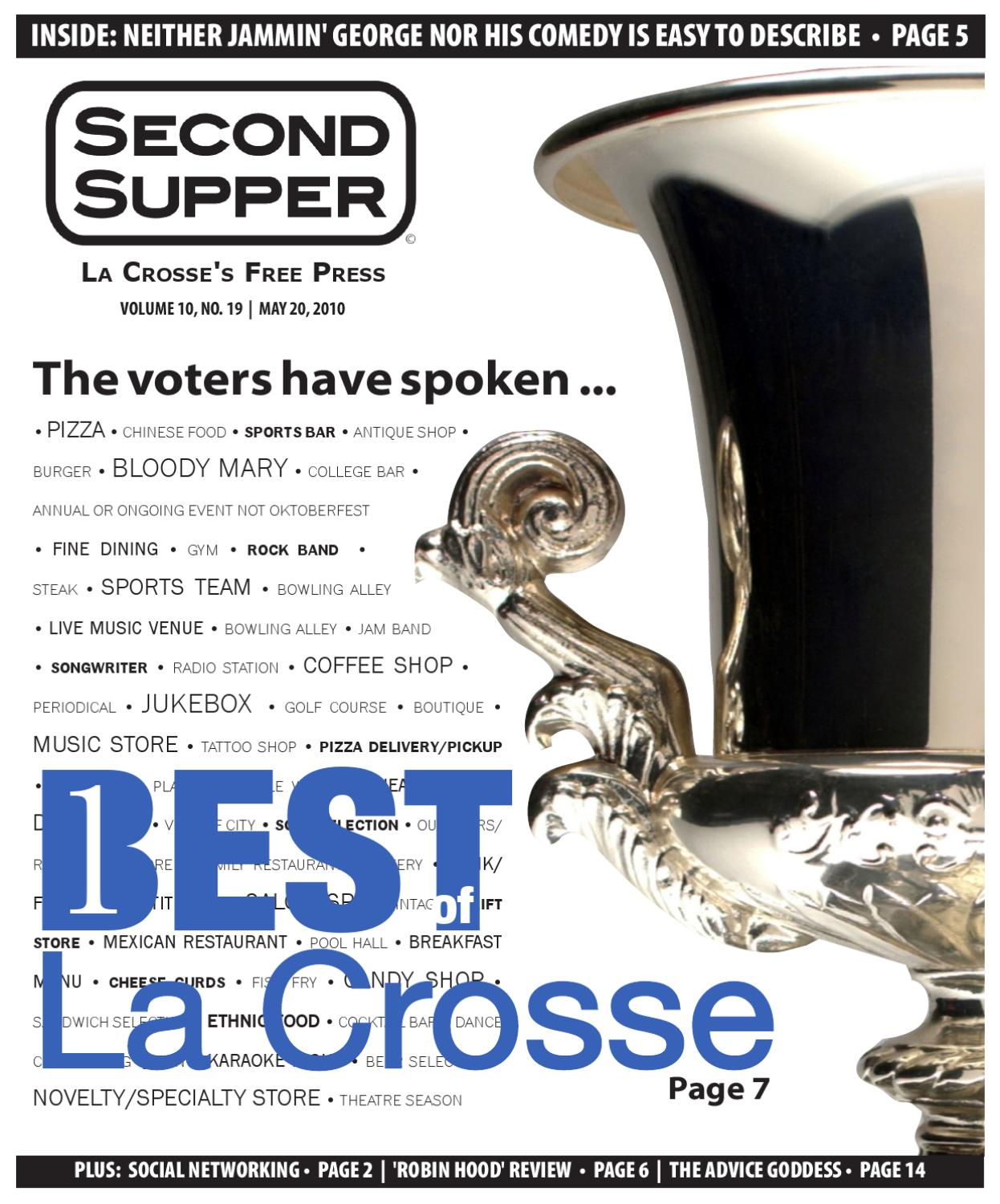 Second supper by second supper issuu for Tattoo shops in la crosse wi
