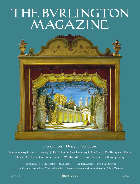 Guide Des Bonnes Manieres Rothschild 1275burlingtonjune2009the burlington magazine - issuu