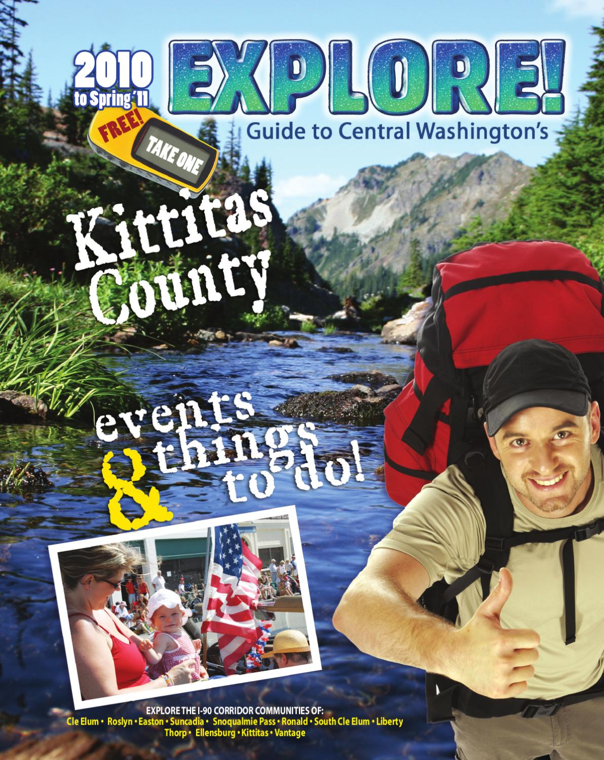 2010 11 EXPLORE! Kittitas County Visitor Guide by Northern Kittitas County Tr