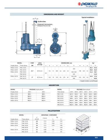 pedrollo water pump catalogue 2010