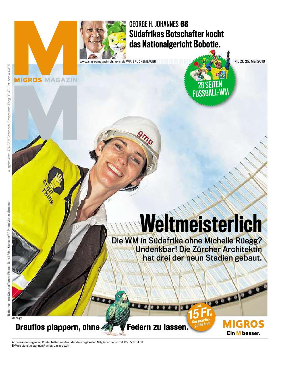 Migros Magazin 21 2010 d BL by Migros-Genossenschafts-Bund - issuu