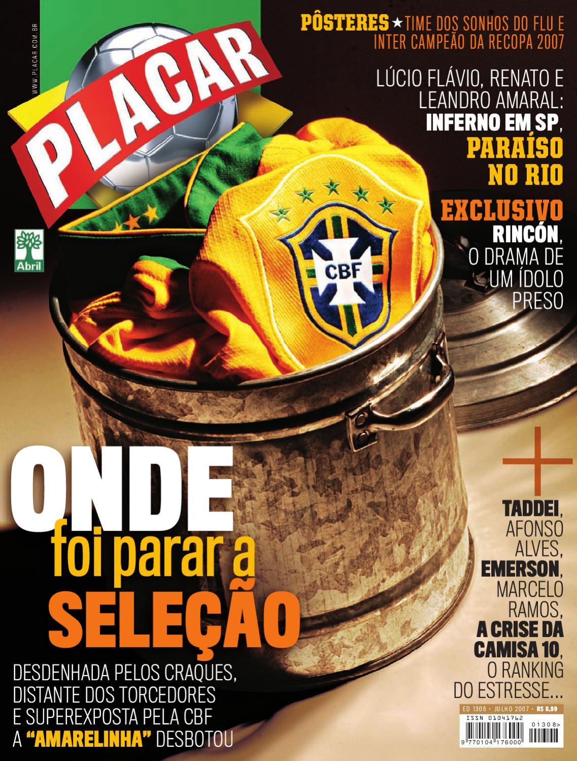 02f3d0b0d798d Placar Julho 2007 by Revista Placar - issuu