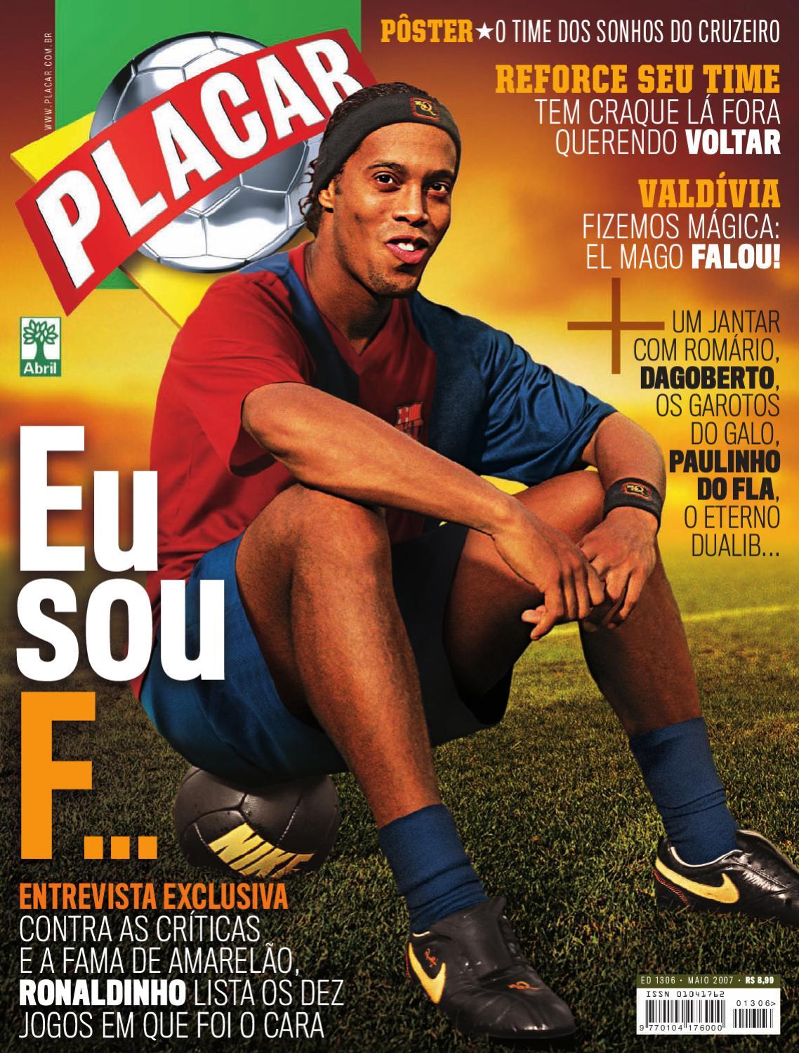 Placar Maio 2007 by Revista Placar - issuu e99f890642867