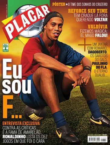 Placar Maio 2007 by Revista Placar - issuu d9212f5880a93