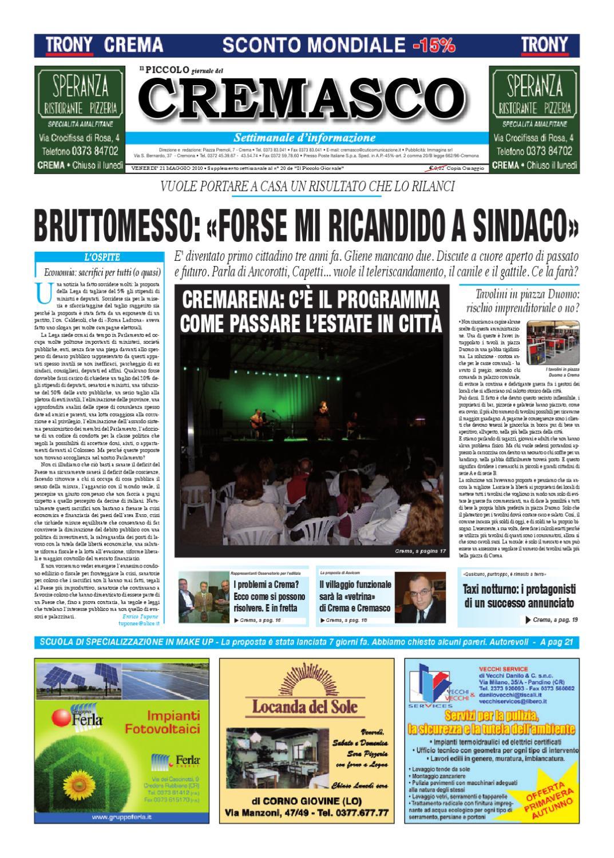 caratteristiche eccezionali tecnologie sofisticate ampia selezione Il Piccolo del Cremasco by promedia promedia - issuu