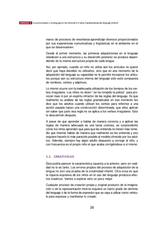 Características Del Lenguaje Infantilno By Carmen Garcia Issuu