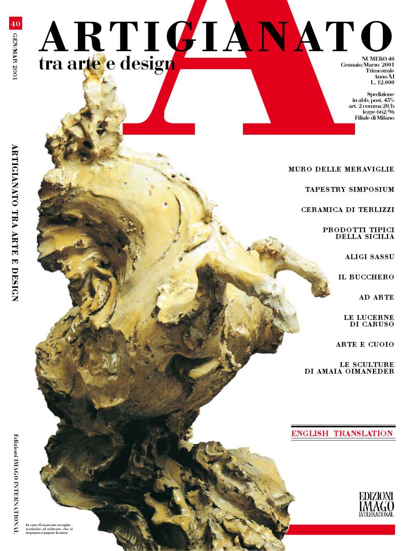 Supermercato Della Ceramica 2000 Srl.Artigianato 40 By Fondazione Cologni Dei Mestieri D Arte Issuu