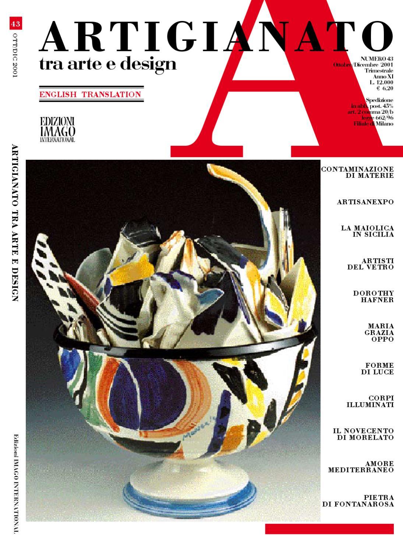 Artigianato 43 by Fondazione Cologni dei Mestieri d Arte - issuu 7e589c008f6a
